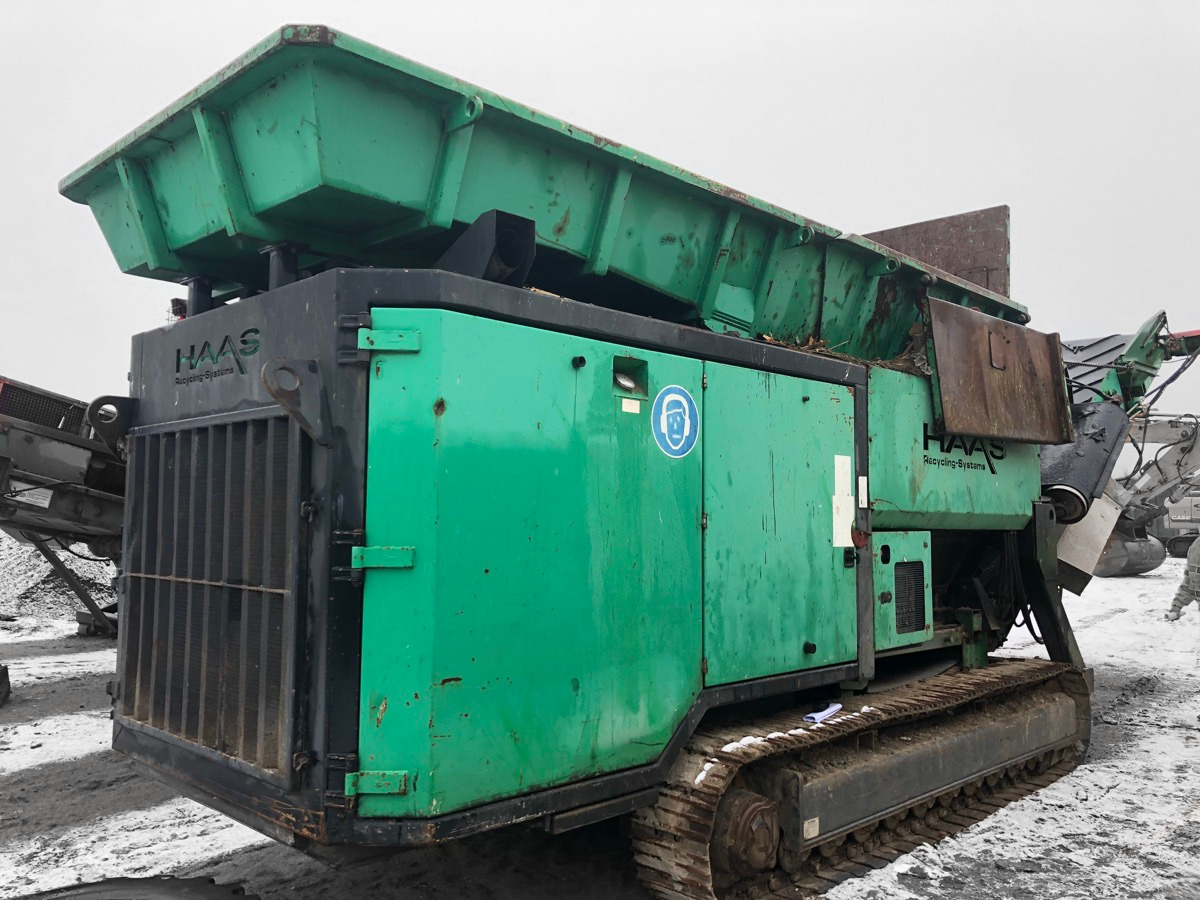 HAAS HDWV-D 700/2000 SHREDDER Slow Speed -