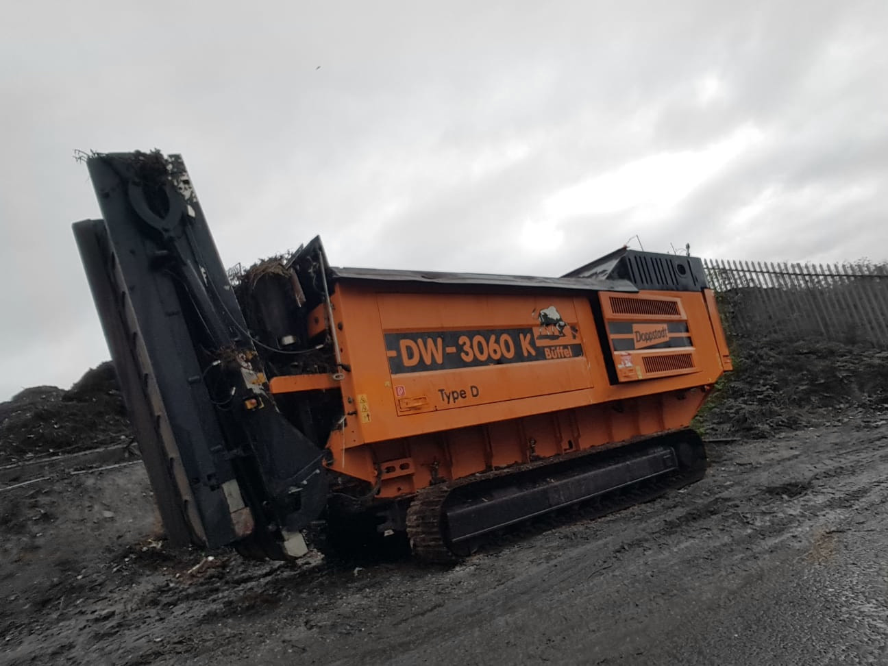 Doppstadt DW3060K Buffel Type D SHREDDER Slow Speed -