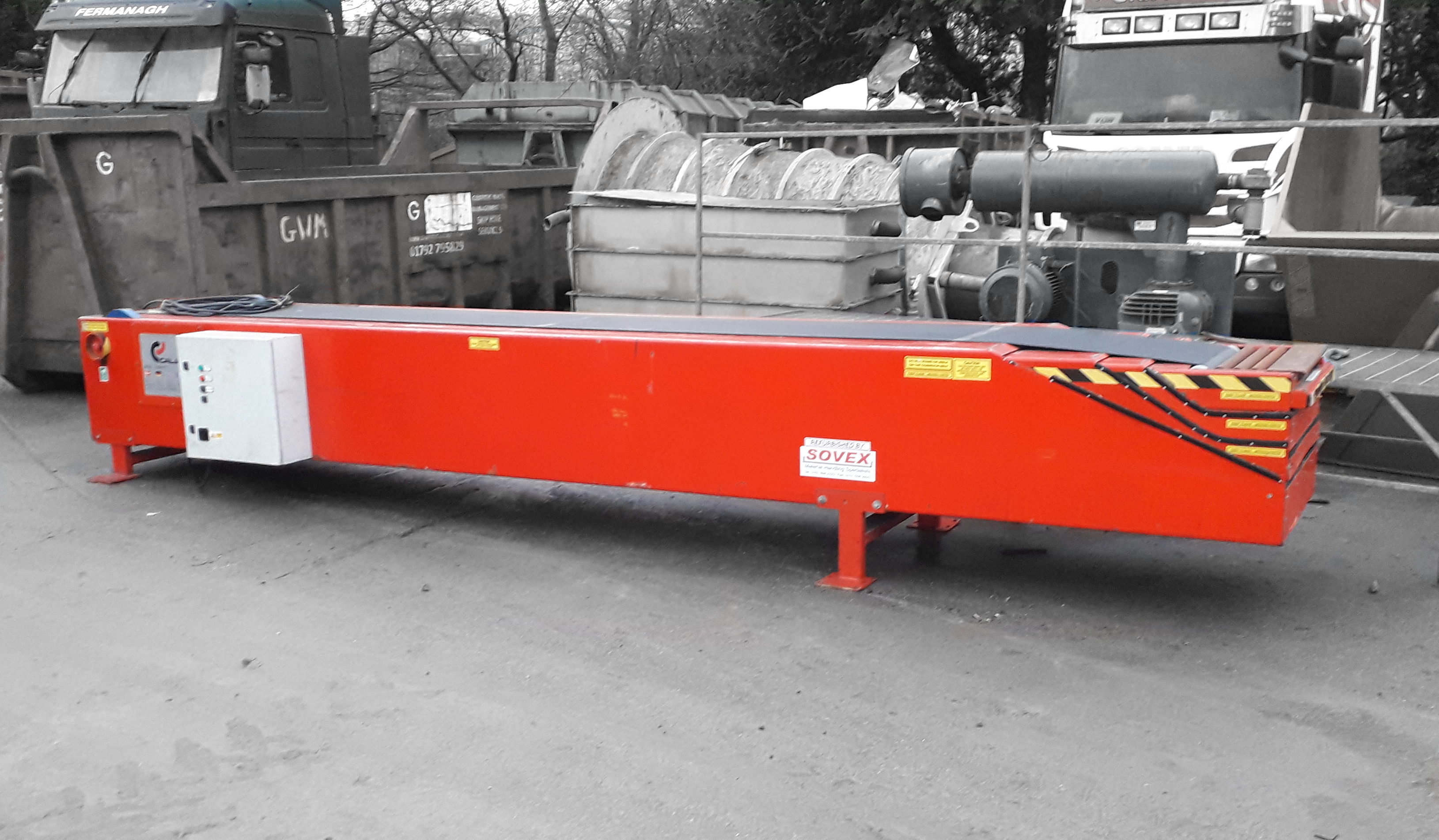 Caljan 6M Telescopic CONVEYOR (Telescopic) -
