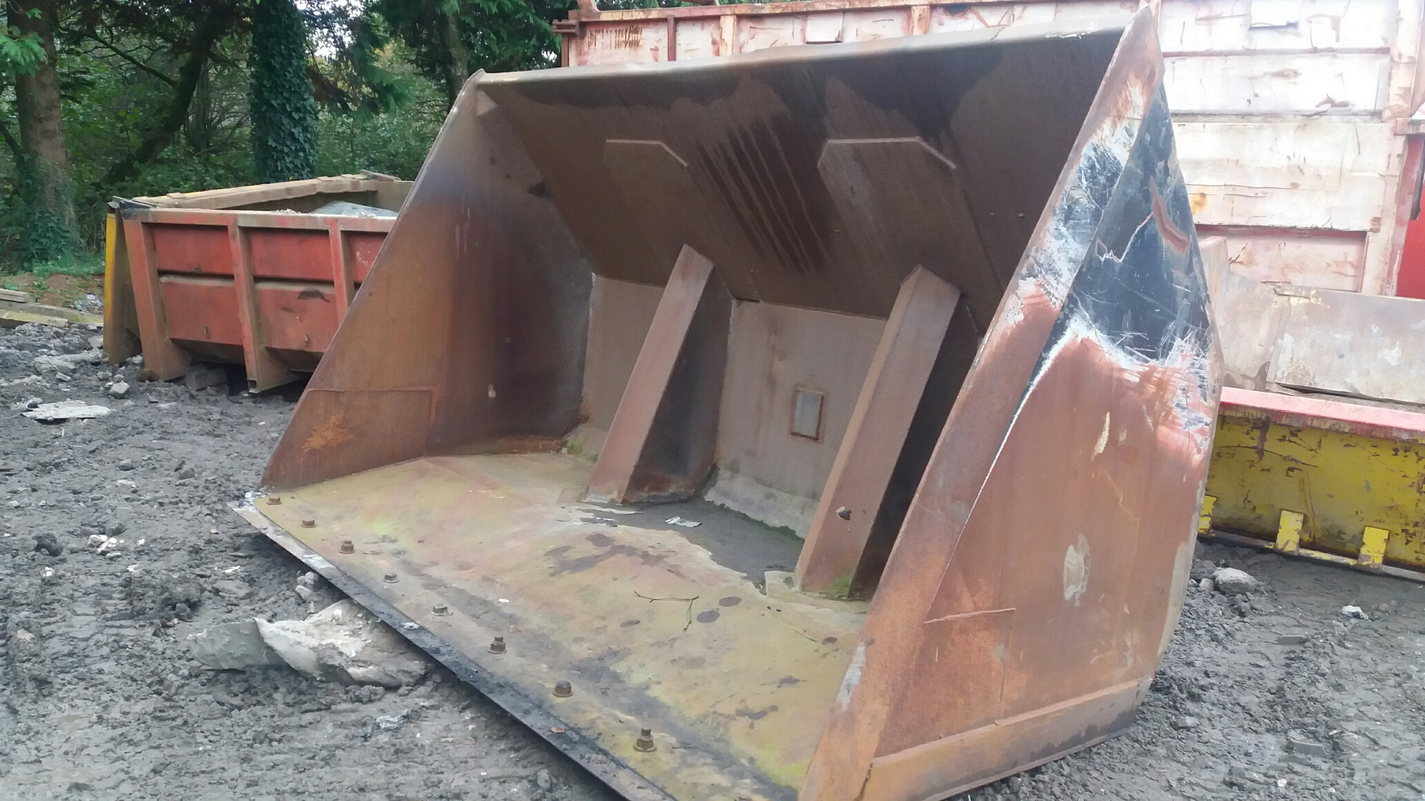 RPM 1461 Toe-Tip Bucket BS Toe-Tip Bucket For Sale / Hire UK
