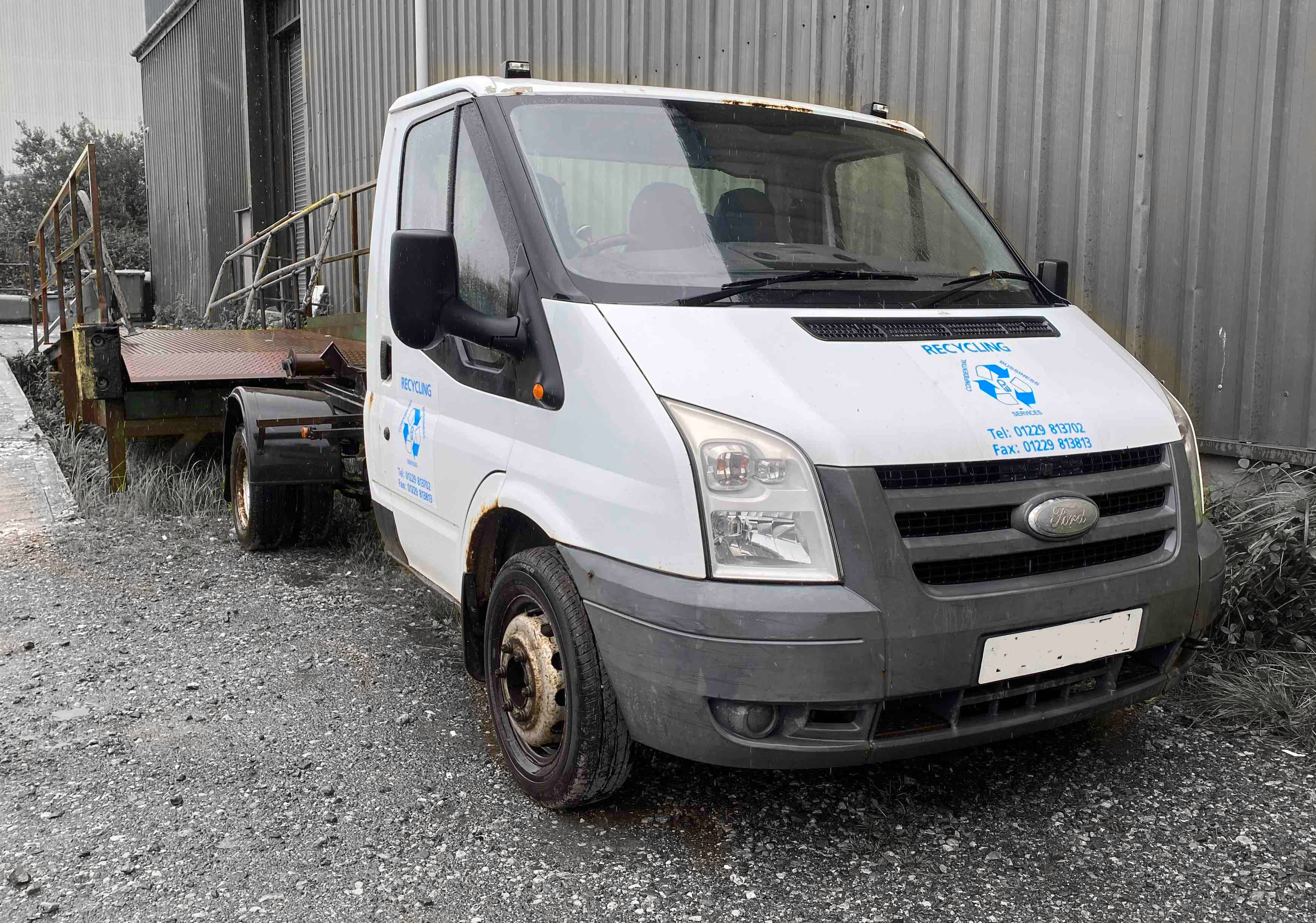 Ford / NTM Transit / Hook Loader VEHICLE -