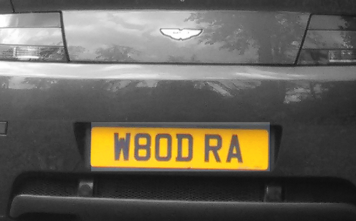 Private Number Plate  REGISTRATION Number -